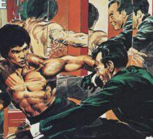 Kung Fu Comic Cover Sticker