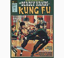 Kung Fu Comic Cover Unisex T-Shirt
