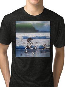 See Dick Run Tri-blend T-Shirt
