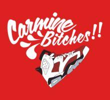Carmine bitches !! - White by Chigadeteru