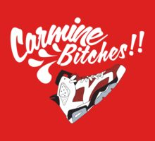 Carmine bitches !! - White by Chigadeteru