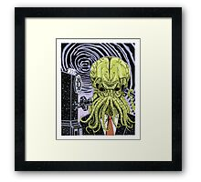 The Collect Call of Cthulhu Framed Print
