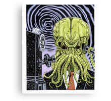 The Collect Call of Cthulhu Canvas Print
