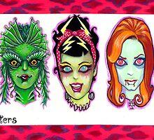 She Monsters by KupKake