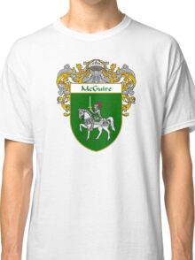 McGuire Coat of Arms/Family Crest Classic T-Shirt