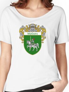 McGuire Coat of Arms/Family Crest Women's Relaxed Fit T-Shirt