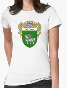McGuire Coat of Arms/Family Crest Womens Fitted T-Shirt