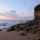 Sunrise at Bells Beach II by Julie Thomas