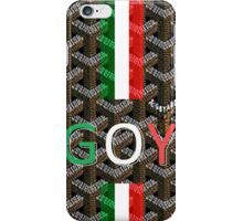 talo custom, monogram goyard iPhone Case/Skin