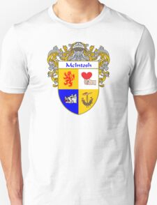 McIntosh Coat of Arms/Family Crest Unisex T-Shirt