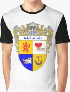 McIntosh Coat of Arms/Family Crest Graphic T-Shirt