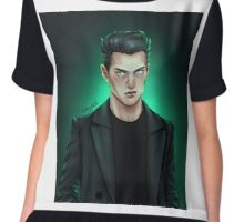 Tom Riddle Jr. Chiffon Top