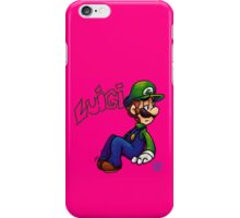 Pink Luigi  iPhone Case/Skin