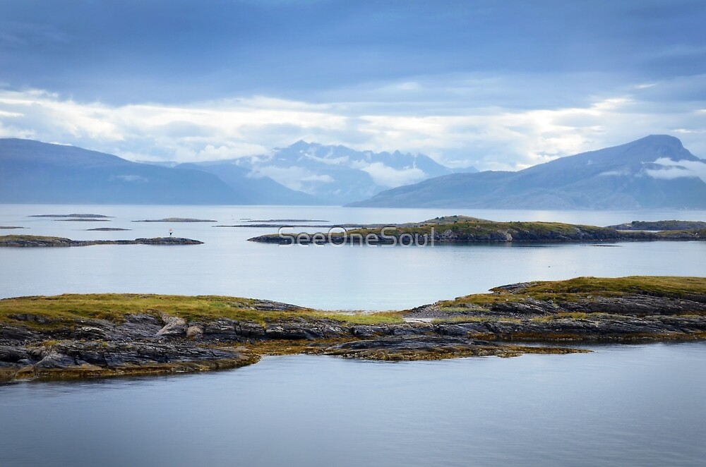 Sail-in to Bodo, Norway by SeeOneSoul