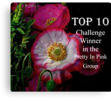 Top Ten Banner  Canvas Print