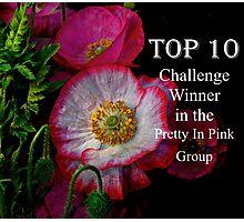 Top Ten Banner  Photographic Print