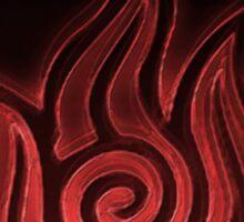 Avatar: Fire Element Sticker