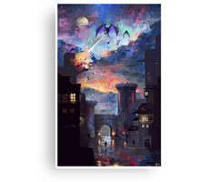 'Setting fire to the rain Canvas Print