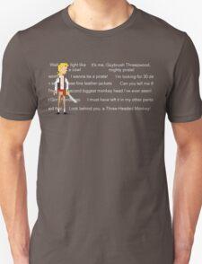 I wanna be a pirate! Unisex T-Shirt