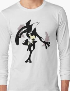 Froakie - Frogadier - Greninja ( Evolution line ) V2 Long Sleeve T-Shirt