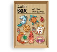 Lucky box Canvas Print