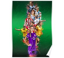 Steph Catley (From Melbourne Victory to Orlando Pride + The Matildas) Poster