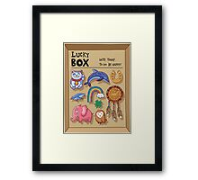Lucky box Framed Print