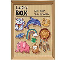 Lucky box Photographic Print