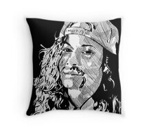 Mike Starr Throw Pillow