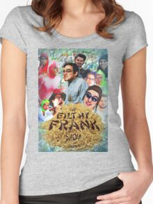 Filthy Frank - King of Filth (Distressed) Women's Fitted Scoop T-Shirt