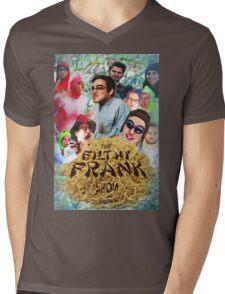 Filthy Frank - King of Filth (Distressed) Mens V-Neck T-Shirt