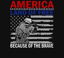 america land of free Unisex T-Shirt