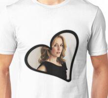 Gillian Anderson Heart Unisex T-Shirt