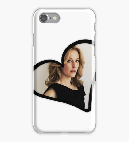 Gillian Anderson Heart iPhone Case/Skin