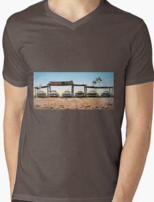 A Fordable Mens V-Neck T-Shirt