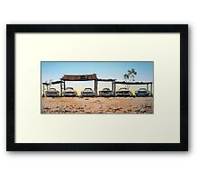 A Fordable Framed Print