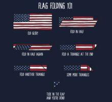 Flag Folding 101 Kids Clothes
