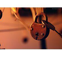 Locked Away Photographic Print