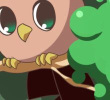 Chick-Pea Owl Sticker