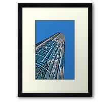 Point to the sky Framed Print