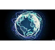 World Of Sound | Planet Earth Photographic Print