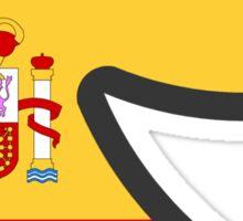 Spain Smile Sticker