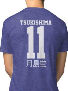 Tsukishima Kei #11 月島蛍  Tri-blend T-Shirt