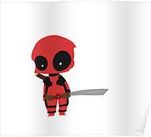 Chibi Deadpool Poster