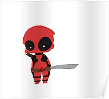 Chibi Deadpool Poster