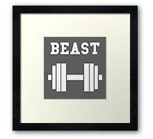 Beast Framed Print