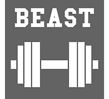 Beast Photographic Print