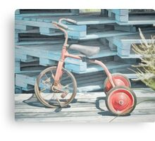 The Joy of Tricycles  Canvas Print