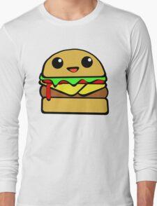 Kawaii Burger  Long Sleeve T-Shirt