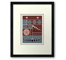 Astronomy Poster Framed Print